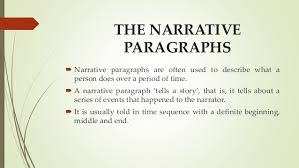 types of paragraphs 6 my most embarrassing moment