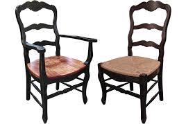 black ladder back dining chairs country french ladderback chair country french black ladder back