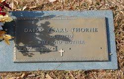 Daisy Pearl Brown Nix Thorne (1927-2014) - Find A Grave Memorial