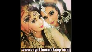 zoya khan asian bridal makeup artist glasgow