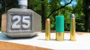Shooting A Dumbbell 12 Gauge Vs 450 Bushmaster Vs 4570