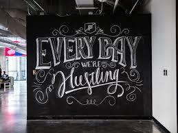 chalkboard office. chalkboard office