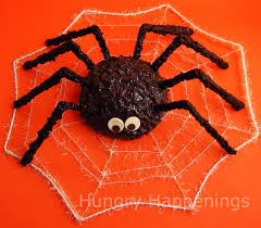 How To Make A Giant Spider Web Giant Cake Ball Spider Hungry Happenings Halloween