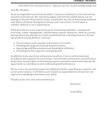 Sample Accounting Assistant Cover Letter Accountant Assistant Cover