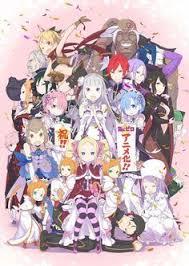 an anime re zero kara hajimeru isekai seikatsu poster wall scroll home decor re life in a diffe world from zero rem ram