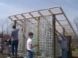 michigan backyard gardener april 2010 building a house with plastic bottles