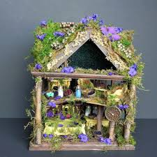 furniture fairy. Woodland Fairyhouse, Fairy Dollhouse, Garden, Indoor Garde Furniture