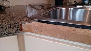 Granite Tile Can Be Reaffixed To Countertop Edge Tribune Content