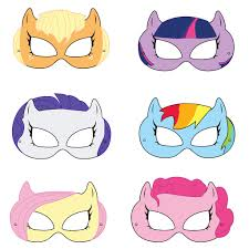 Small Picture Pony Printable Masks pony mask horse mask girls costume pony