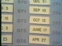 The Draft Lottery Dec 1 1969