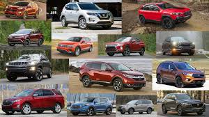 Suv Comparison Chart 2018 Compact Suv Comparison Featuring Specs And Pics From Every