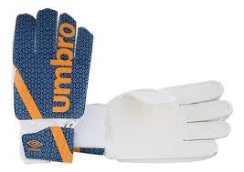 <b>Вратарские перчатки Umbro Veloce</b> III Glove, синий/оранжевый ...
