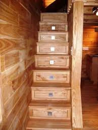 Small Picture Custom Stairs with Storage Raw Ayurveda