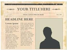Old Newspaper Article Template Old Newspaper Template Format Download Free Premium Templates