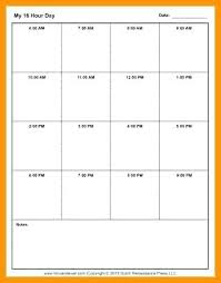 24 hour daily planner template 24 hour daily schedule template hr daily schedule template hour day