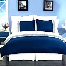 navy blue duvet cover plain double dark nz queen