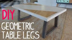 Kitchen Table Legs For Diy Modern Geometric Table Legs Youtube