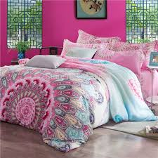 image of luxury boho bedding sets