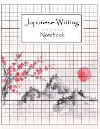Writing Practice Worksheet Japanese Writing Notebook Syllabary Hiragana Katakana