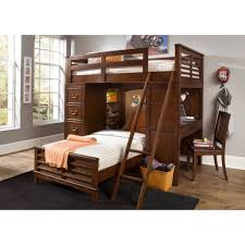 Chelsea Square Twin-Over-Twin Loft Bunk Bed with Cork Board Headboard -  Free Shipping Today - Overstock.com - 15481137