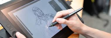 Wacom Comparison Chart Huion 1060 Plus Oder Wacom Intuos Pro Medium Seite An Seite