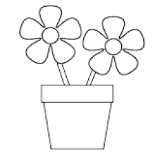 Flower Color Page Free Printable Flower Coloring Pages Coloring