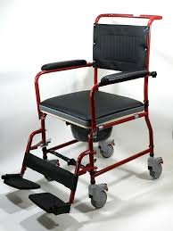 com medmobile 3 in 1 commode wheelchair bedside toilet shower chair health personal care