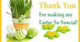 Thank You Easter Thank You Messages Easter