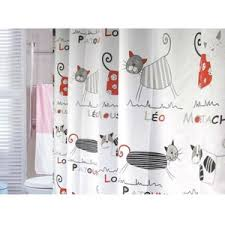 cool shower curtains for kids. Cute Stylish PEVA Fabric Cat Shower Curtain Cool Curtains For Kids