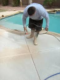 concrete pool deck paint ideas acrylic deck paint using acrylic paint with polymer concrete repairman concrete pool deck paint