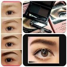 eyebrow powder. eyebrow powder + eyeliner
