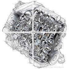 cutaway car engine stock illustrations view