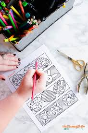 Free Printable Easter Coloring Bookmarks I Should Be Mopping The Floor
