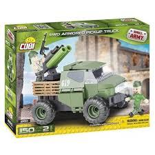 <b>Конструктор Cobi</b> Small Army 2160 <b>Армейский</b> бронированый <b>пикап</b>