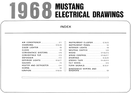 1968 mustang wiring diagrams evolving software wiring diagram table of contents