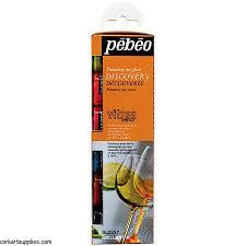 Pebeo Vitrea 160 Color Chart Pebeo Vitrea 160 6pk Cork Art Supplies Ltd