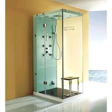 steam shower vs sauna valencia steam shower sauna with jacuzzi whirlpool massage bathtub gray