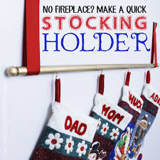 no fireplace to hang your stockings we ll show you how to make