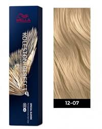 Wella Koleston Perfect Me Permanent Hair Color 12 07 Special Blonde Natural Brown