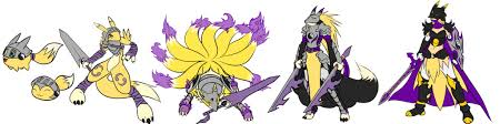 Renamon Digivolve Chart Renamon Digivolution Clipart Images Gallery For Free