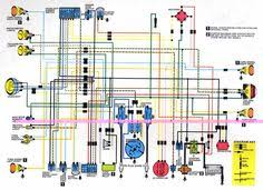 simple motorcycle wiring diagram for choppers and cafe racers honda motorcycle wiring diagrams