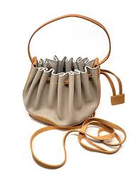handbag leather chic and contemporary sculptured taupe tan