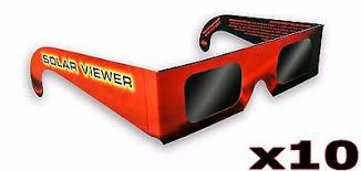 x10 Solar <b>Eclipse</b> Glasses Sun Shades Thousand Oaks Optical ...