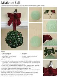Mistletoe Ball Lights This Diy Mistletoe Ball Is Simple To Make And Easy To Hang