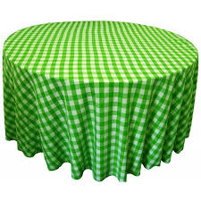 round tablecloth 108 checd available multiple colors loading zoom
