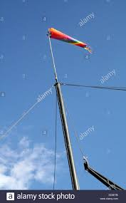 Windsock Pole Lights Colorful Wind Sock Stock Photo 59698671 Alamy