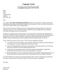 Awesome Collection Of Sample Cover Letter For Sports Marketing