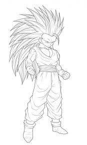 Dragon Ball Z Coloring Pages To Print Printable Coloring Pages