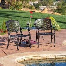lounge chair patio cast aluminum christopher knight home sarasota bronze cast aluminum outdoor adjoinin