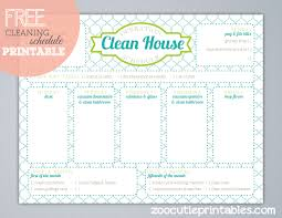 Cleaning Checklist Template Free Printable House Cleaning Checklist Template Download Them Or Print